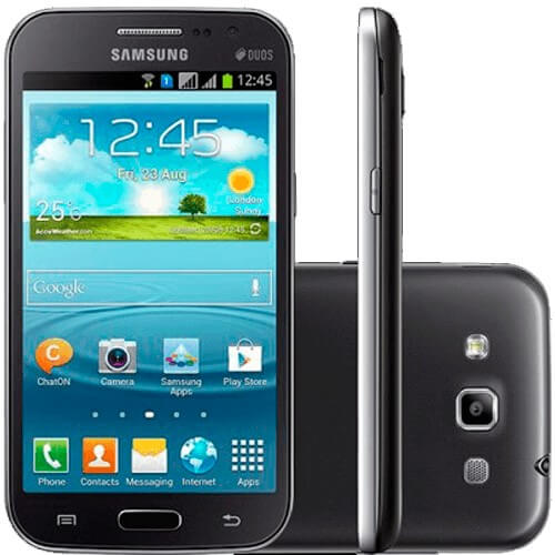 "Smartphone Samsung Galaxy Duos GT-i8552 - 8GB - 1GB - 5MP - Android 4.1 - Tela 4.7"" - Cinza"