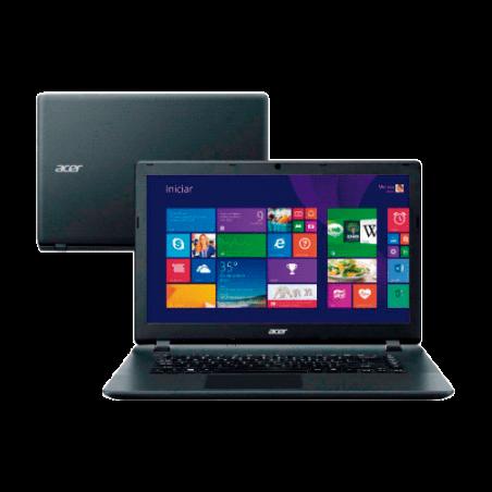 "Notebook Acer Aspire ES1-511-C98N Black - Intel Celeron N2840 - HD 250GB - RAM 2GB - LED 15.6"" - Windows 8.1"