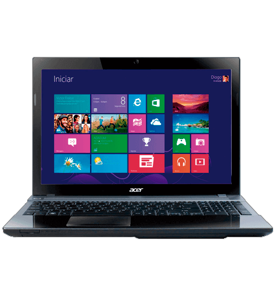 Notebook Acer V3-571-6654 Intel Core i5-2450M - RAM 4GB - HD 500GB - 15.6'' Windows 8