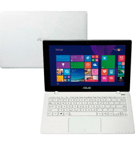 "Notebook Asus X200MA-CT204H - Intel Dual Core - RAM 2GB - HD 500GB - LED 11.6"" Touchscreen - Windows 8.1 - Branco"