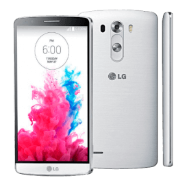 "Smartphone LG G3 D855 Branco - 4G LTE - 16GB - Wi-Fi - Quad Core - 5.5"" - 13MP - Android 4.4 KitKat - Desbloqueado"