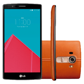 "LG Smartphone H815 G4 - 32GB - Tela 5.5"" - Camêra 16MP - Couro Marrom"