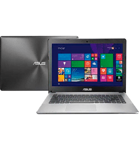 "Notebook Asus X450LD-BRA-WX112H - NVIDIA GeForce - RAM 8GB - HD 1TB - Intel Core i5-4200U - LED 14"" - Windows 8.1"