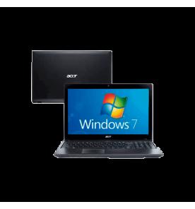 "Notebook Acer AS5750-6874 - Intel Core i3-2330 - 15,6"" - RAM 4GB - HD 500GB - Windows 7 Home Basic"