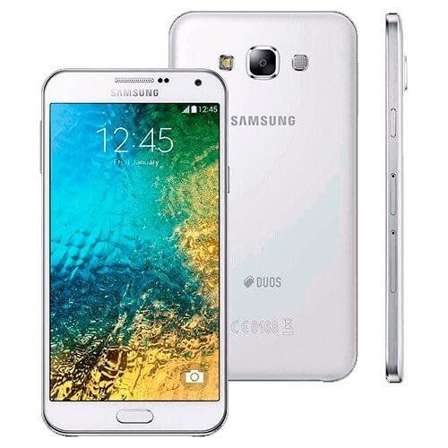 """Smartphone Samsung Galaxy E7 - 4G - SM-E700M - Dual Chip - 16 GB - Tela 5.5"""" - Branco"""