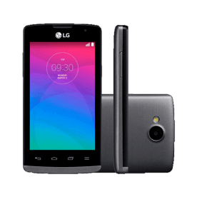 Smartphone LG 3G Joy H221F - 4GB - Cinza - Bluetooth 4.0 - Android 4.4