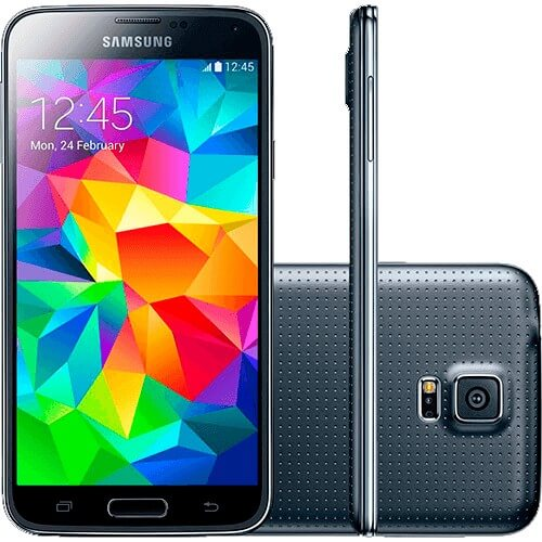 "Smartphone Samsung Galaxy S5 4G Duos - SM-G900MD - Preto - 16GB -Tela 5.1"" - NFC"