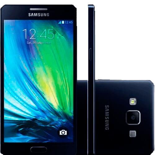 "Smartphone Samsung Galaxy A5 4G Dual Chip - SM-A500M/DS - 16GB - NFC - Tela 5"" - Preto"