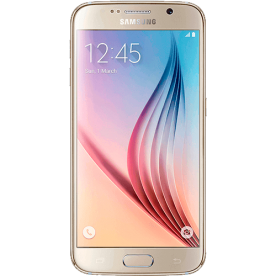"Smartphone Samsung Galaxy S6 G920 Dourado - 64GB - 4G LTE - Octa Core - Câmera 16MP - Super AMOLED 5.1"" - Android 5.0"