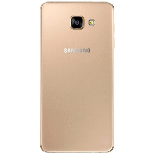 "Smartphone Samsung Galaxy A5 SM-A500H - Dourado - 16GB - 3G - 13MP - 5"" - Android 4.4"