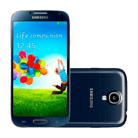 "Smartphone Samsung Galaxy S4 - Preto - 3G - 16GB - 5"" - 13MP - Android 4.2"