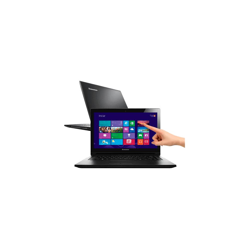 "Notebook Lenovo G400s-80AU0001BR - Intel Core i3-3110M - HD 1TB - RAM 4GB - LED 14"" - Touchscreen - Windows 8"