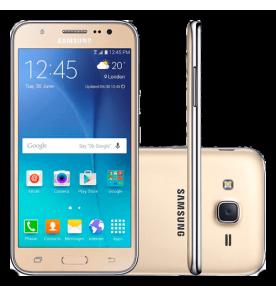 """Smartphone Samsung Galaxy J5 Dual-Chip - 4G - Dourado - 16GB - Câmera 13MP - Tela 5"""""""