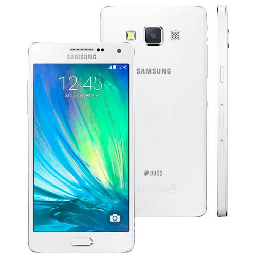 Samartphone Samsung Galaxy A5 - Branco - Duos - 4G - 16GB - Android 5.1