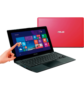 "Notebook Asus X200MA-CT139H Rosa - Intel Celeron N2815 - RAM 2GB - HD 500GB - LED 11.6"" Touchscreen - Windows 8.1"