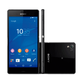 "Smartphone Sony Xperia Z3 Compact D5833 4G - Preto - 16GB - 20MP - Tela 4.6"" - Android 4.4"