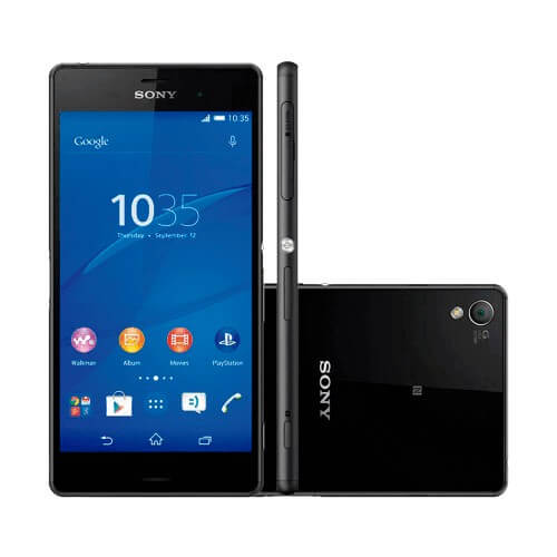 "Smartphone Sony Xperia Z3 Compact D5833 4G - Preto - 16GB - 20MP - Tela 4.6"" - Android 4.4"