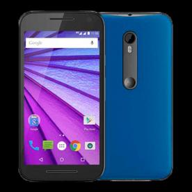 "Smartphone Motorola Moto G 3ª Geração XT1543 Azul- Dual Chip - 16GB - Tela HD 5"" - Android 5.1"