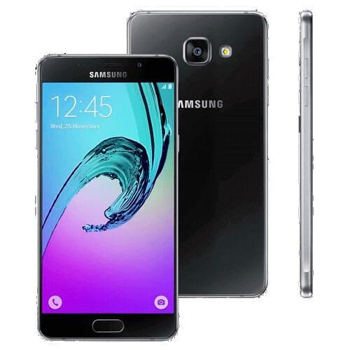 """Smartphone Samsung Galaxy A5 A510M - Preto - 16GB - 4G - 13MP - Tela 5.2"""""""