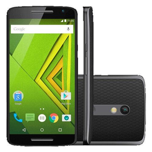 """Smartphone Motorola Moto X Play XT1563 - Preto - 16GB - Dual Chip - 21MP - Tela HD 5.5"""""""