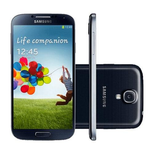 "Smartphone Samsung Galaxy S4 4G I9505 Preto -16GB - 13MP - Tela 5"" - Android 4.4"