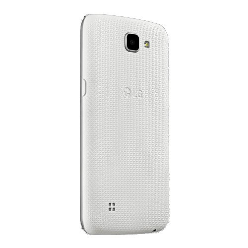 "Celular LG K4 K130F Dual 4G Branco - 8GB - Tela LCD 4.5"" - Android 5.1.1"