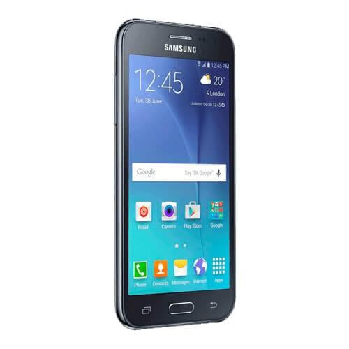 """Smartphone Samsung J2 J200M Dual Preto - 8GB - Tela 4.7"""" - Android 5.1"""