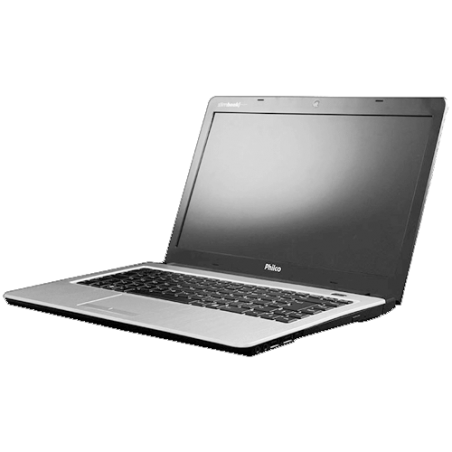 "Notebook Philco Slimbook 14I-R744WB - RAM 4GB - AMD Brazos Dual Core - HD 500GB - Tela 14"" - Windows 7 Home Basic"