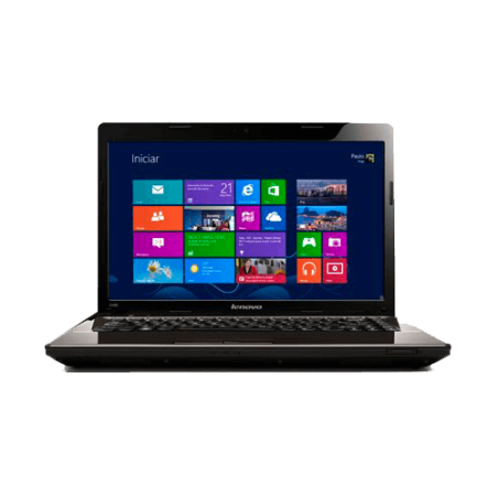 "Notebook Lenovo G485-59343821 Preto - AMD C60 - RAM 2GB - HD 320GB - LED 14"" - Windows 8"