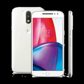 "Smartphone Motorola Moto G4 Plus XT1640 - 4° Geração - Branco - Dual-Chip - 32GB - 5.5"" - 16Mpx"