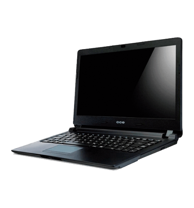 "Notebook CCE Ultra Thin U45B - HD 500GB - RAM 4GB - Intel Dual Core Celeron 1037U - LED 14"" - Windows 8.1"