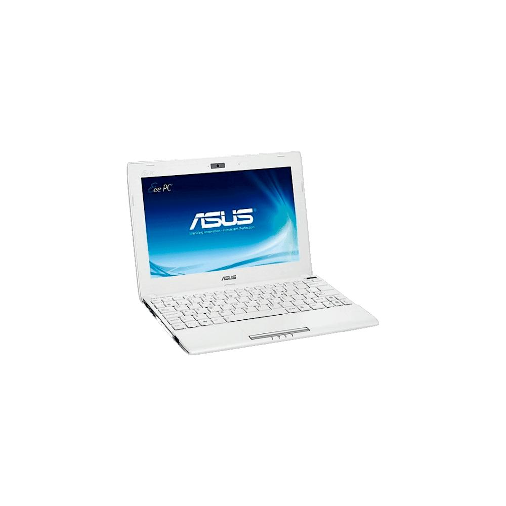 Netbook Asus 1025C-WHI084S - Intel Atom Dual Core N2600 - RAM 2GB - HD 320GB - LED de 10.1'' - Branco - Windows 7 Starter
