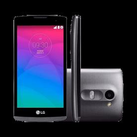 Smartphone LG Leon 4G H342F Titanio - Dual-Chip - 8GB - Android 5.0