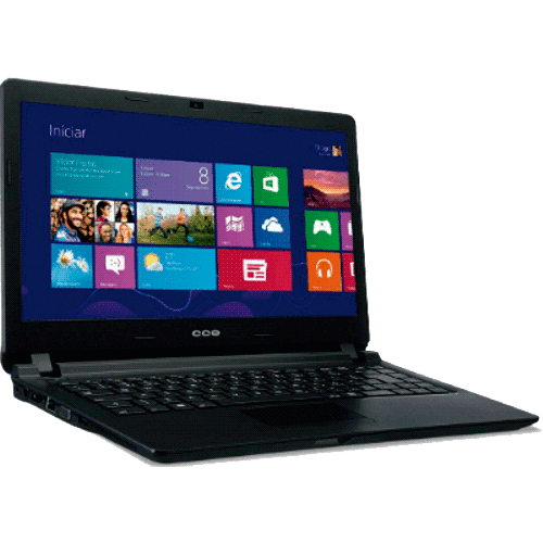 "Notebook CCE Ultrafino N325 - Intel Core i3-3217U - HD 500GB - RAM 2GB - LED 14"" - Windows 8"
