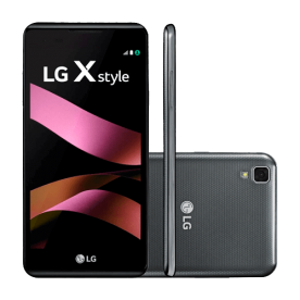 "Smartphone LG X Style Duos K200DSF Titânio - 16GB - 5"" - Android 6.0"