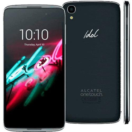 "Smartphone Alcatel Idol 3 6039J - Dual-Chip - 16GB - Tela LCD 4.7"" - Android 5.0"