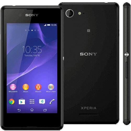 "Smartphone Sony Xperia E3 4G TV Preto - 4GB - Tela 4.5"" - Android 4.4.2 KitKat"