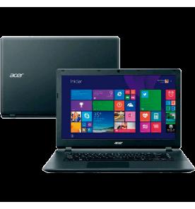 """Notebook Acer ES1-511-C35Q - Intel Celeron N2840 - RAM 2GB - HD 320GB - LED 15.6"""" - Windows 8.1"""