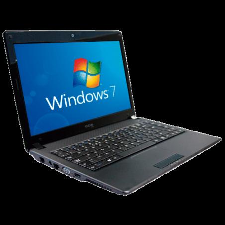 "Notebook CCE WIN BSPE - Intel Pentium T4400 - RAM 2GB - HD 320GB - LED 14"" - Windows 7 Starter"