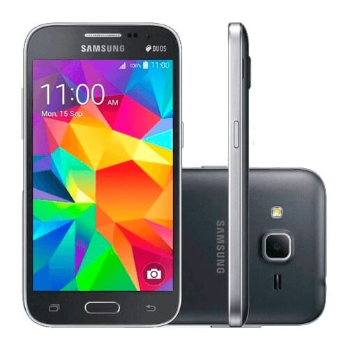 "Smartphone Samsung Galaxy Win 2 Duos G360 - Cinza - Dual-Chip - 8GB - 5MP - Tela 4.5"" - Android 4.4"