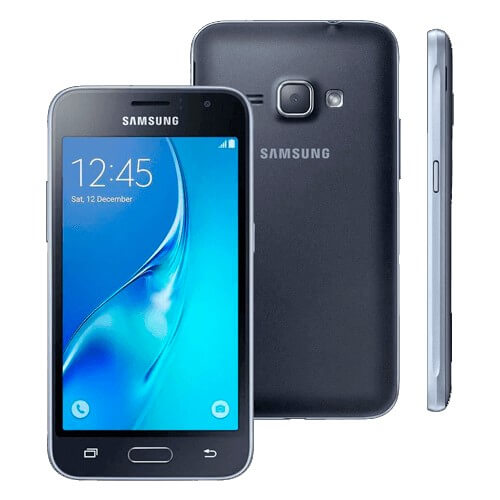 "Smartphone Samsung Galaxy J5 - Preto - Dual-Chip - 4G - 16GB - 13MP - Tela 5"" - Android 5.1"