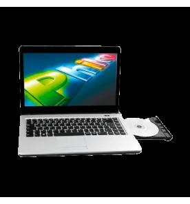 Notebook Philco 14L-R1044W8NC4CU43 - Intel Celeron Processor 847 - RAM 4GB - HD 500GB - 14,0'' - Windows 8