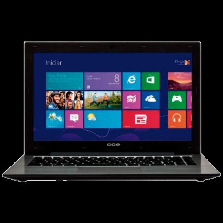 """Notebook CCE Ultra Thin T345 - Intel Core i3-3217U - HD 500GB - RAM 4GB - LED 14"""" - Windows 8"""