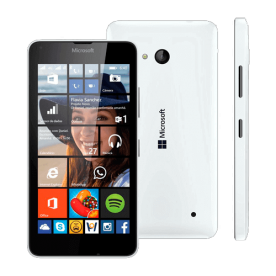 "Smartphone Nokia Lumia 640 - Branco - 8GB - 8MP - Tela 5"" - Windows Phone 8.1"