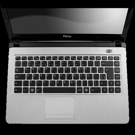 "Notebook Philco Preto 14I2-P744W8 - AMD Dual Core - RAM 4GB - HD 500GB - LED 14"" - Windows 8"