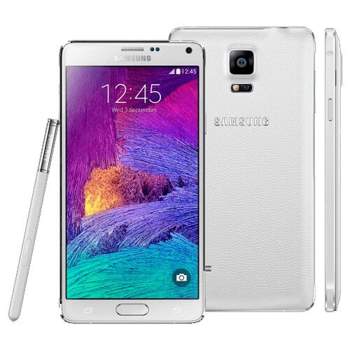 "Smartphone Samsung Galaxy Note 4 N910C Branco - 32GB - RAM 3GB - 4G LTE - Octa Core - 5.7"" - 16MP - Android 4.4"