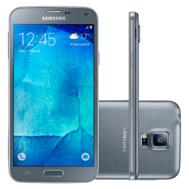 Smartphone Samsung Galaxy S5 New Edition 16GB Prata - Dual-Chip - 16MP - Tela 5.1""