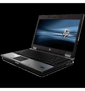 """Notebook HP Elitebook 8440p, na cor prata, processador Intel Core i5 de 2.40 Ghz, memória RAM 3GB, HD de 250GB, tela 14"""" e Windows 10"""