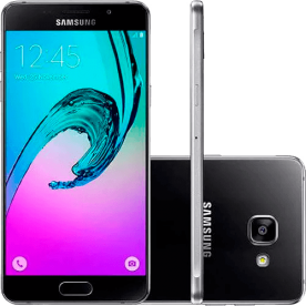 "Smartphone Samsung Galaxy A5 A510M Dual-Chip - Preto - 16GB - 4G - 13MP - Tela 5.2"""
