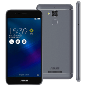 "Smartphone Asus Zenfone 3 Max ZC520TL - Cinza - 16GB - 4G - 13MP - Tela 5.2"" - Android 6.0 Marshmallow"